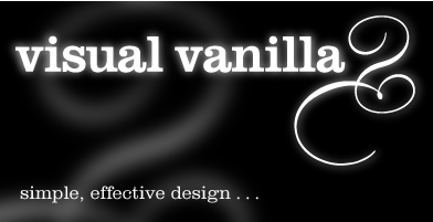 Visual Vanilla | Simple, effective design...